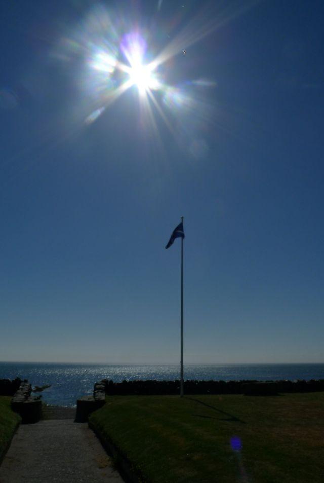 sunburst in Scotland