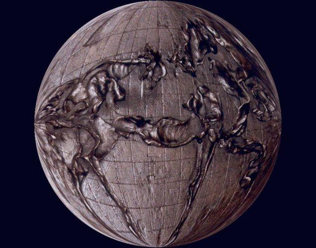 ablackhiram horse planet round