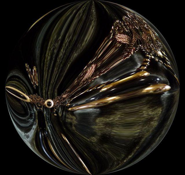 goldeneye warp round black
